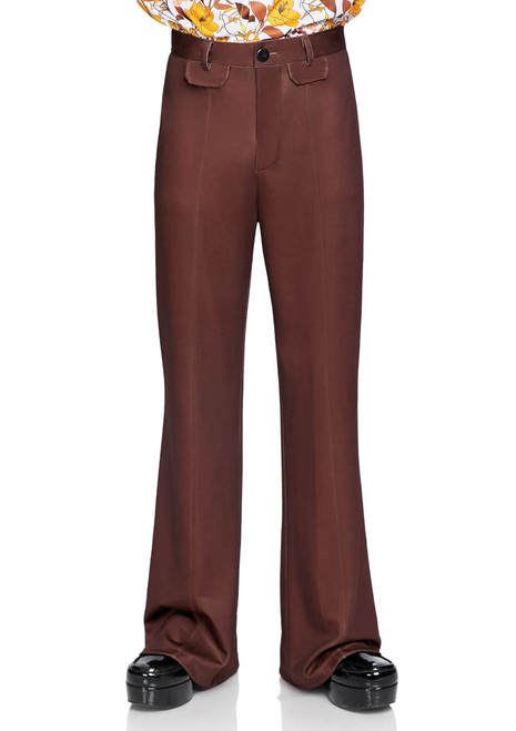 LA-86876, Men's Bell Bottom Pants by Leg Avenue