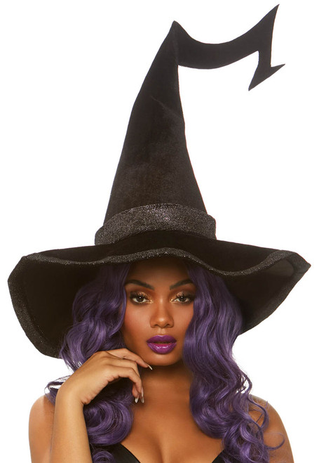 A2874, Velvet Witch Hat by Leg Avenue