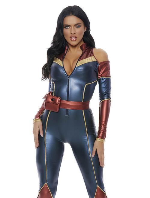 Forplay Costume | FP-559610, Space Soldier Superhero Costume