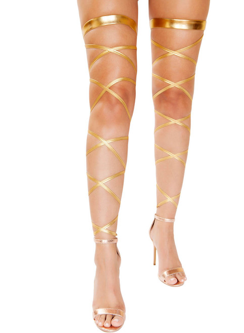 R-4929, Gartered Leg Wraps by Roma Costume