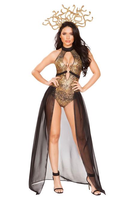 Medusa Snake Lover Costume by Roma R-4932, Front Full View