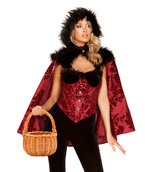 R-4937, Fancy Red Ridding Hood Costume by Roma
