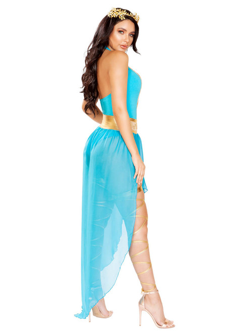 R-4928, Athena Goddess Costume by Roma Back View