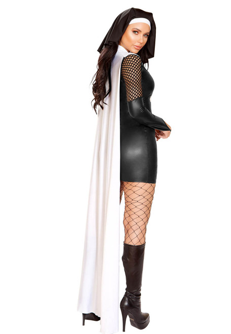 R-4914, Nun of the Above Costume Roma   Back View