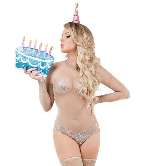 Sexiest Women's Birthday Suit Costume by Starline S9010