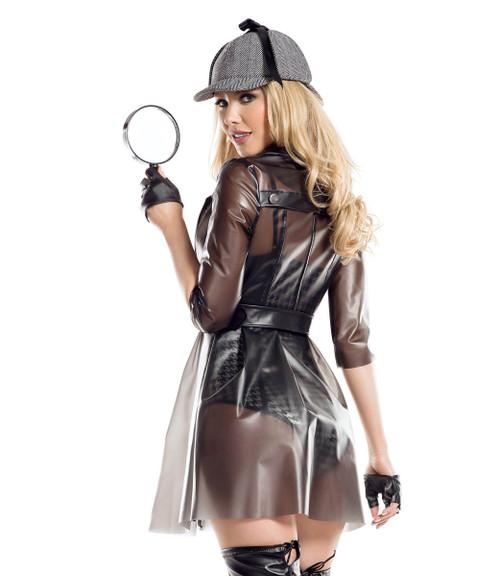 Starline | S8046, Ms. Private Investigator Costume Back View