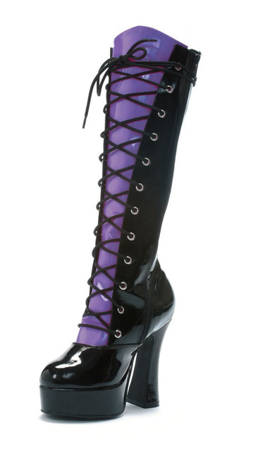 557-Buffy, 5 Inch Heel Knee High Boot w/4 Different Tongues * Made by ELLIE Shoes