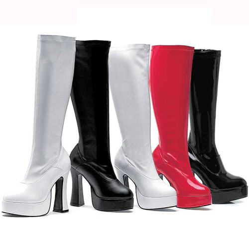 "5"" Knee High GoGo Boot Ellie Shoes 
