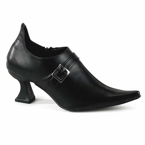 "ELF-05, Women 2.5"" Chunky Heel Elf Shoes by Funtasma"