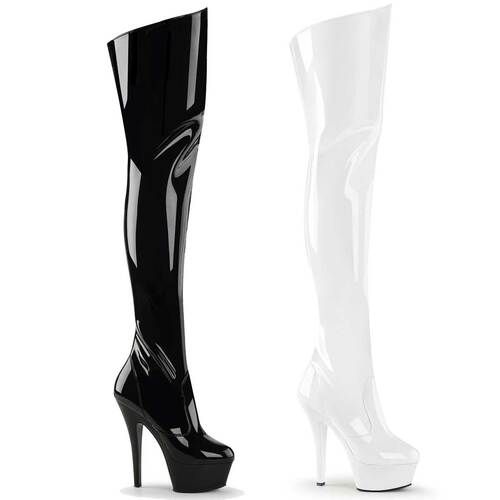 Stripper | Platform Thigh-high boots Pleaser | KISS-3010