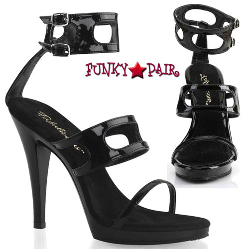 "FLAIR-458 4.5"" Ladies Party Shoes 