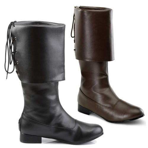 Men's Pirate Boots | Funtasma PIRATE-100