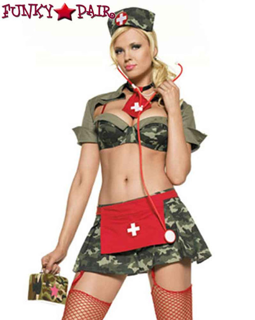 Leg Avenue | LA-53019, Sexy 2PC. Army Nurse Costume