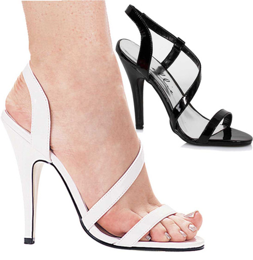 "Ellie Shoes | 510-Debbie 5"" Strappy Sandal"