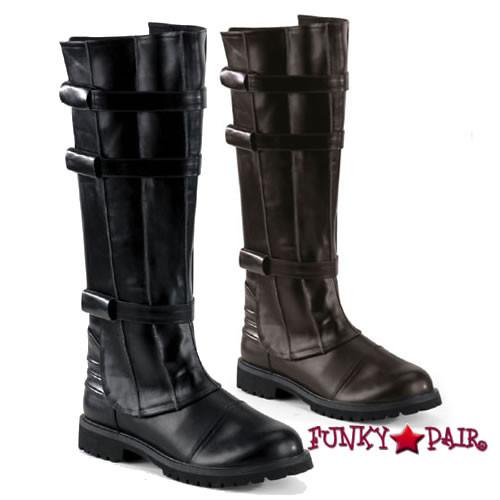 Funtasma |  WALKER-130, Superhero Men's Knee Boot