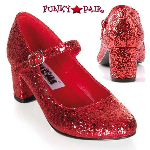 Funtasma | Women's SCHOOLGIRL-50G, Glitters Costume Shoes
