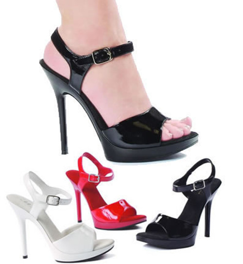 502-Juliet, 5 Inch High Heel Stiletto Sandal Made by ELLIE Shoes