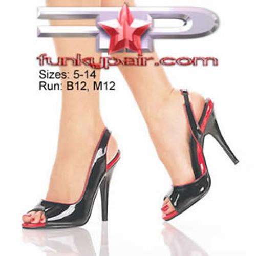 Seduce-117, 5 Inch High Heel Slingback pump