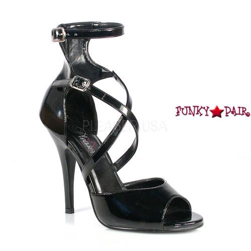 Seduce-205, 5 Inch High Heels Ankle Strap Sandal