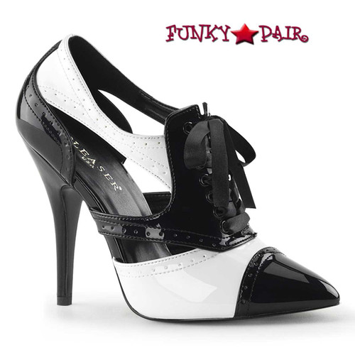 Pleaser | Seduce-458, Cutout Spectator Pump