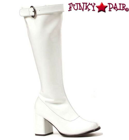 "300-Hippie 3"" Gogo boots with Top Buckle 