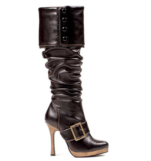 Ellie | 426-Grace, Women's Pirate Knee High Boots