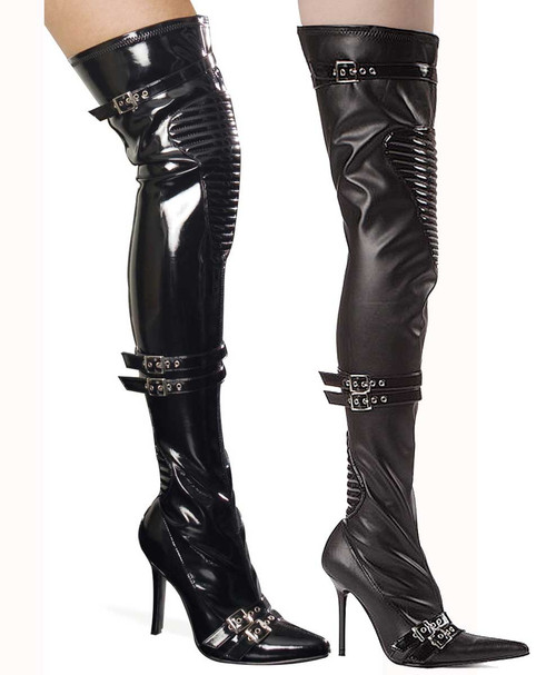 """4"""" Thigh High Boot Ellie Shoes 