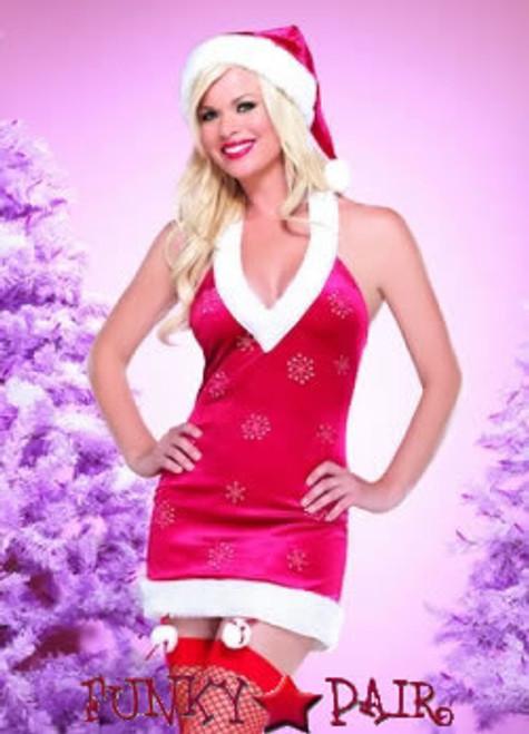 Snowflake Santa