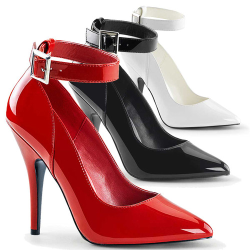 Ankle Strap Pumps Pleaser Shoes Seduce-431,