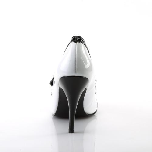 Pleaser   Vanity-442, 4 Inch Heel Spectator Mary Jane Shoe back view