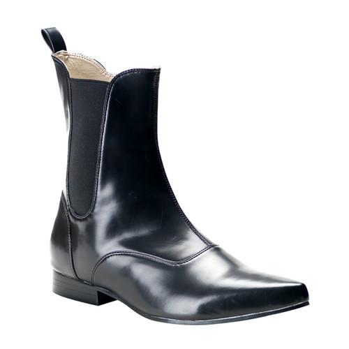 Brogue-02 * Black Winklepicker Ankle Boot Demonia | Men