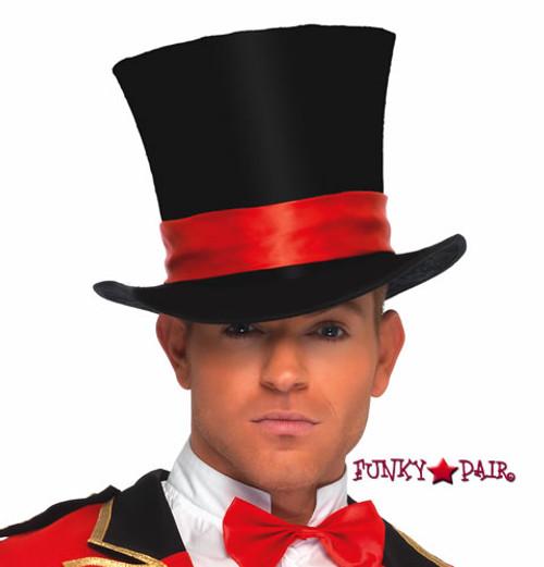 Deluxe Men's Velvet Top Hat