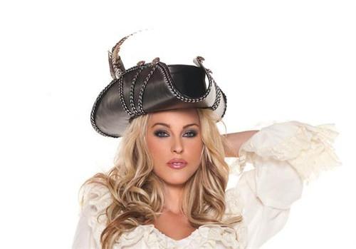 Rouge Pirate Hat Costume Accessories