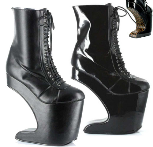 BP579-Mather, Spectator Ankle Boots | Bettie Page