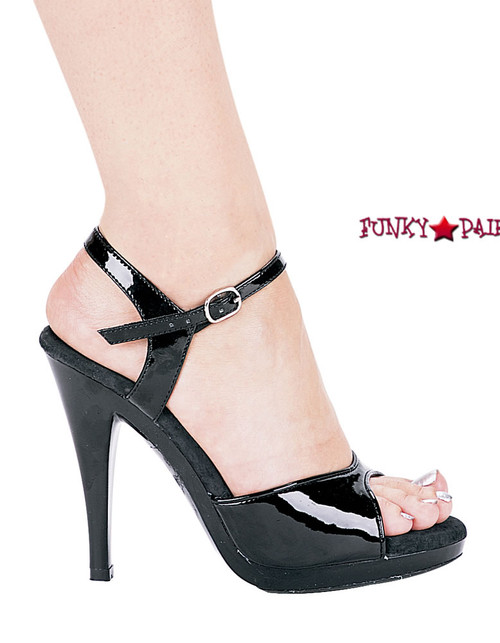 421-Juliet, 4.5 Inch High Heels Made By ELLIE Shoes