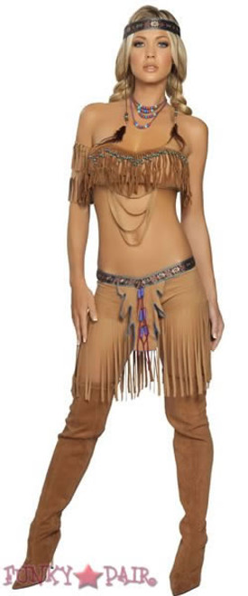 sexy indian native costumes Cherokee Warrior Costume