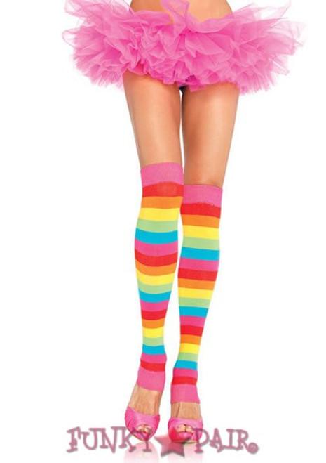 Leg Avenue | LA-3922, Rainbow Leg Warmers