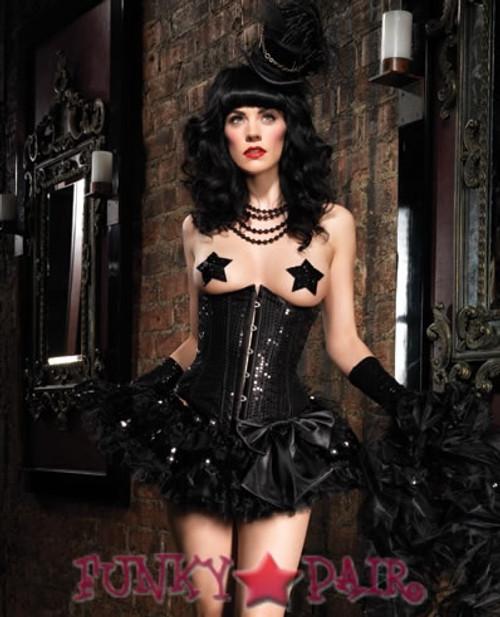 LA-86507, Sequin underbust corset