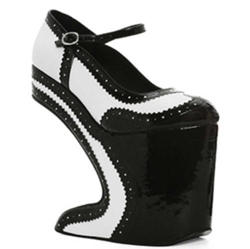 Bettie Page | BP579-AUBREY,  Platform Spectators Shoes