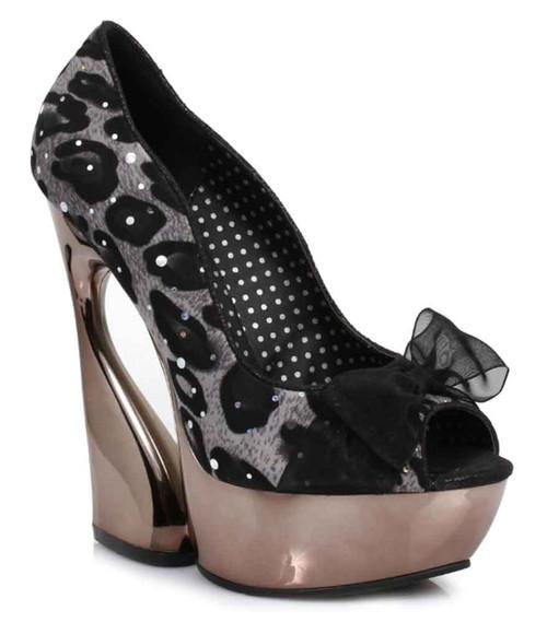 "620-AMADA-L 6"" Curvacious High Heel with Rhinestones Ellie Shoes |"
