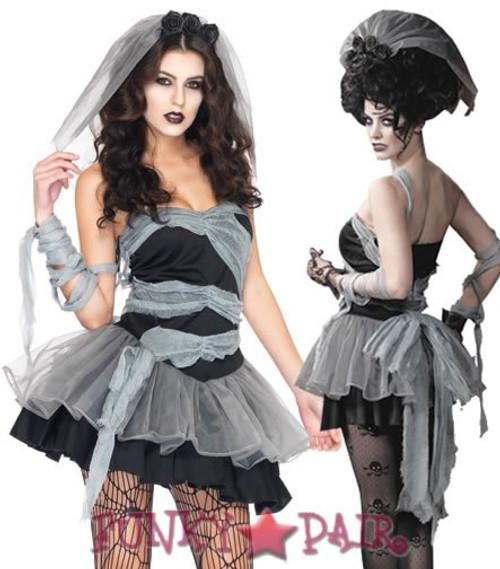 LA-83956, Dead & Buried Bride Costume