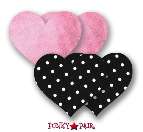 Pretty In Pink Heart Pasties