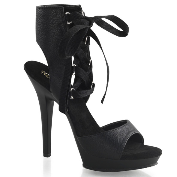 "Lip-194, 5"" Evening Lace Up Ankle HIgh Sandal 