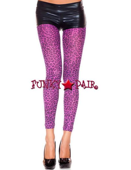 ML-35809 Leopard Print Leggings