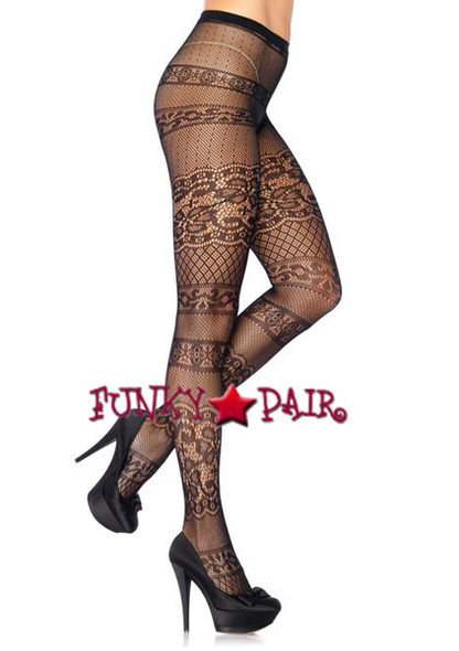 LA-9962, Antique Lace Pantyhose
