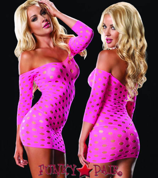LA86579, Pothole Mini Dress