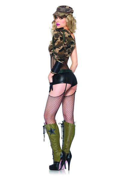 LA-85186, Camo Doll Costume Back