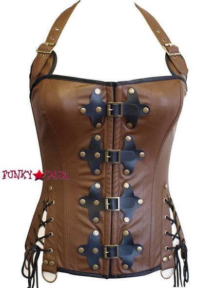 C1388, Steampunk Vinatge Corset Made by Mysery House