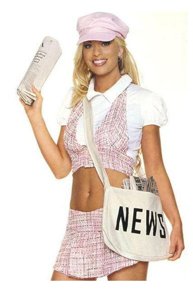 Newspaper delivery girl (83005)