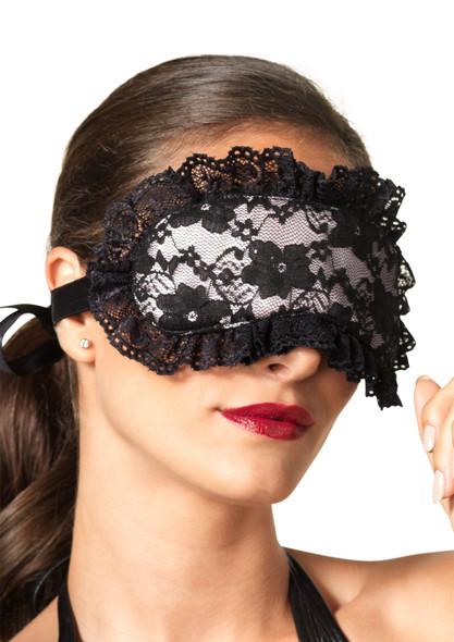 KI2006, Bondage Restraint Set close up mask view